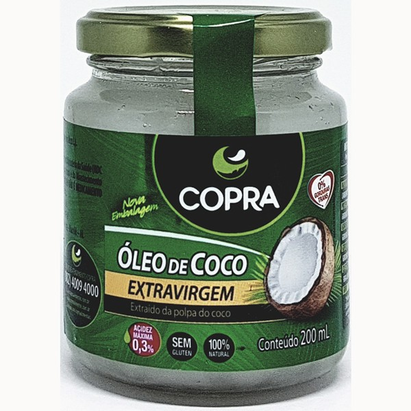 Óleo de Coco Extra Virgem