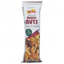Barra Nuts Nozes e Canela