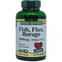 Fish Flax Borage 80 Cápsulas